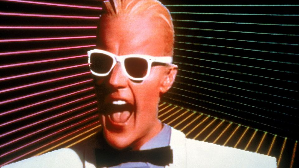Max Headroom, from 20 minutes into the future