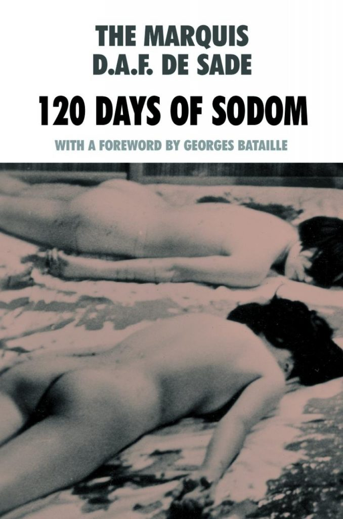 120 Days of Sodom book cover