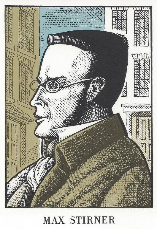 Illustration of Max Stirner