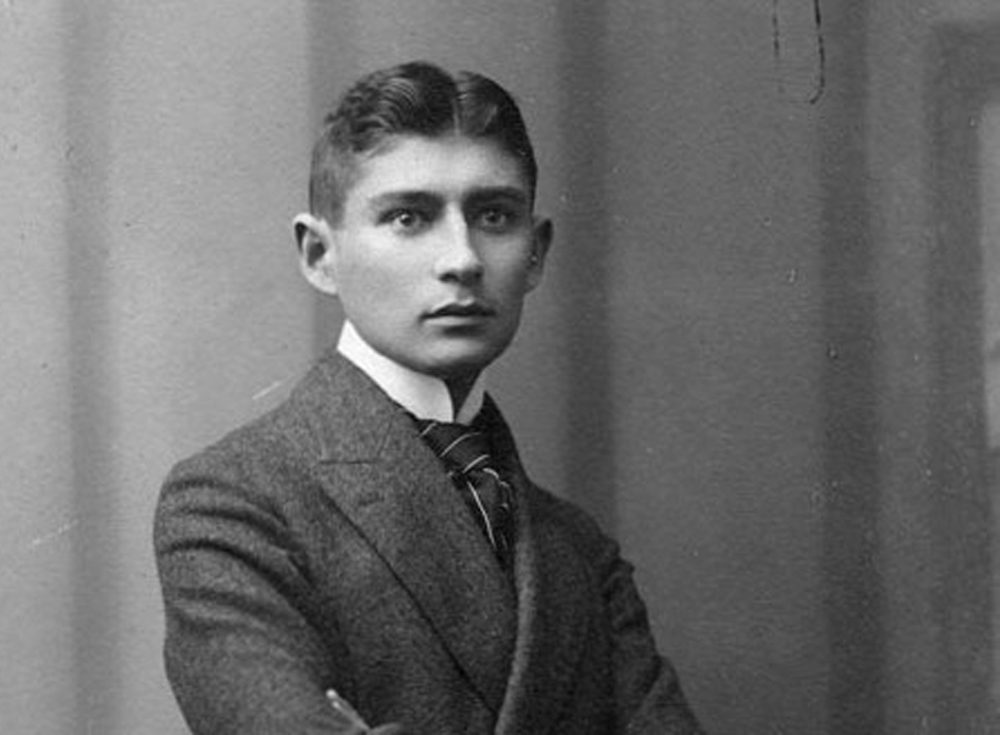 Young Franz Kafka, photographed in 1906