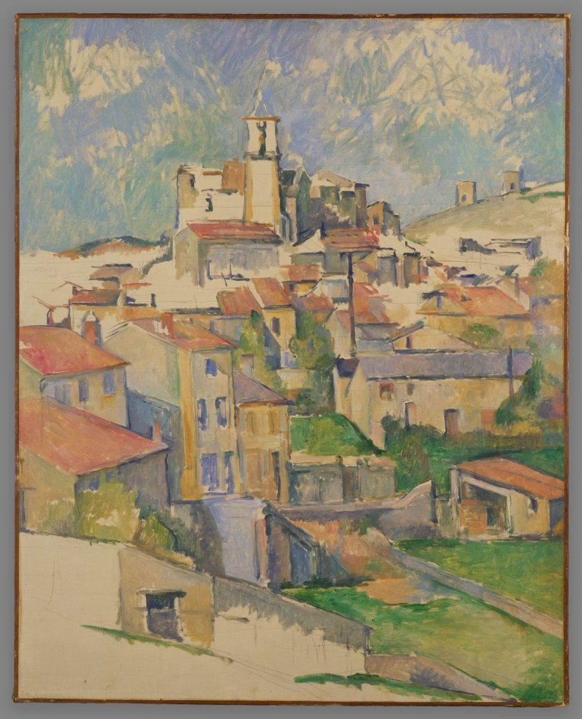 Gardenna by Paul Cézanne