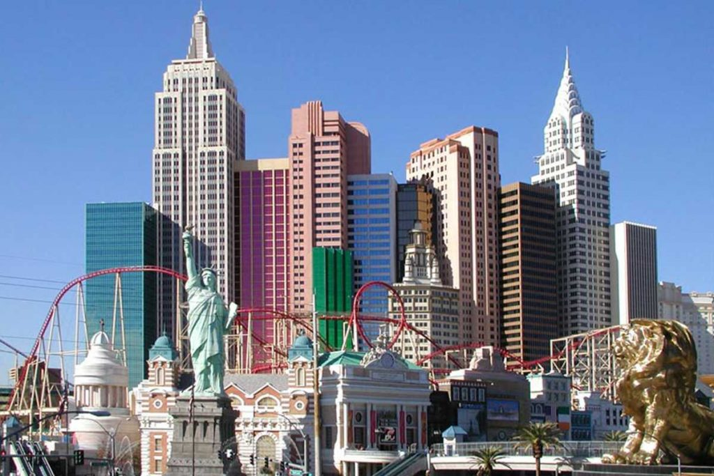 New York New York, Las Vegas Hotel 1997